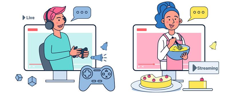 Streaming vs. Live Streaming